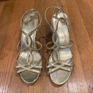 Nine West Gold Heels